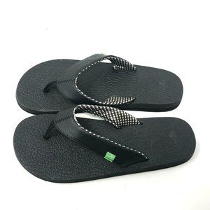 NEW Sanuk Yoga Mat Flip Flops Women's 9